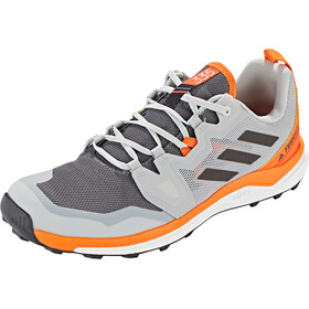 adidas TERREX Agravic Trail Running Schuhe Herren grey five/core black/orange